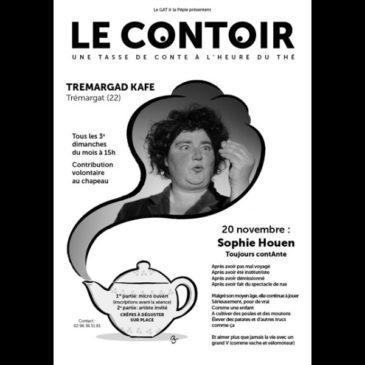 """""""Contoir"""" est de retour au Tremargad Kafe le 20 novembre à 15H"""
