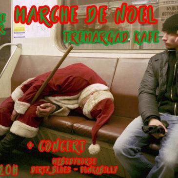 Marché de Noël + Concert MyBodyHorse 8 Décembre