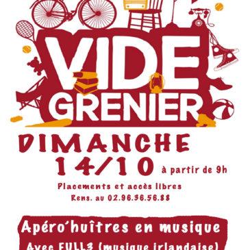 Vide grenier le dimanche 14 Octobre à Trémargat