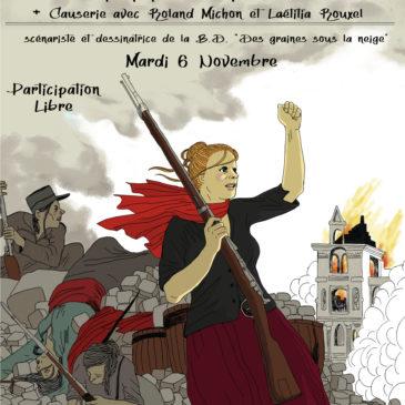 Soirée sur la Commune de Paris le mardi 6 novembre