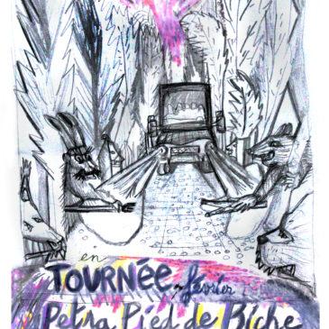 Petra pied de biche et Enfance Sauvage le 23 Février 21h