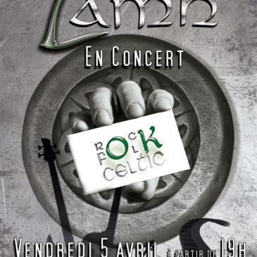LAMH Musique Irlandaise le 5 Avril dès 19h !!!