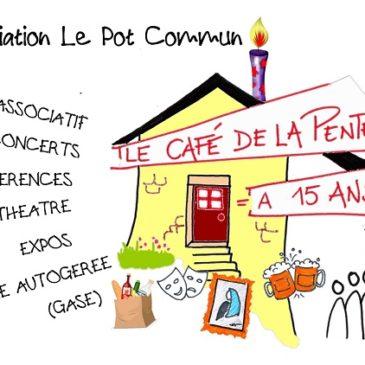 Le cafe de la pente needs you !!!