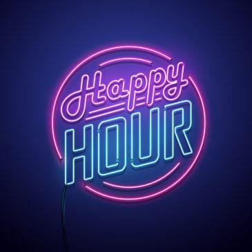 Happy hour le 11 juin à 19h