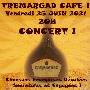 Concert Karmagnac le 25 juin à 20h